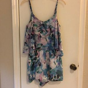 Floral Jack Romper - Like New